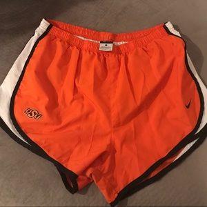 OSU Nike Orange Tempo Shorts Women Large